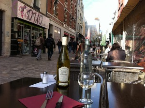 Orléans – parada para almoço
